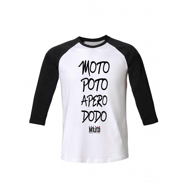 Tshirt ML Moto Poto Apero Dodo