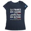 Tshirt La France MXDN Femme