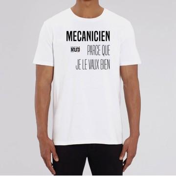 Dr/ôle de m/écanicien qui dit cadeau T-Shirt Je suis dans le garage