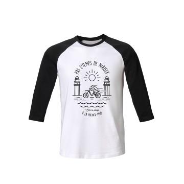 Tshirt ML Sur la Plage