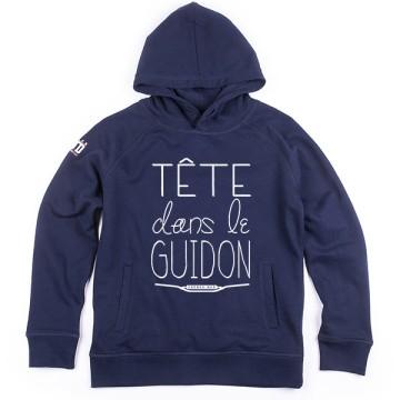 Hoodie enfant Tete dans le Guidon