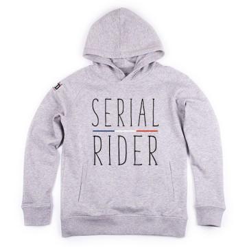 Hoodie enfant Serial Rider