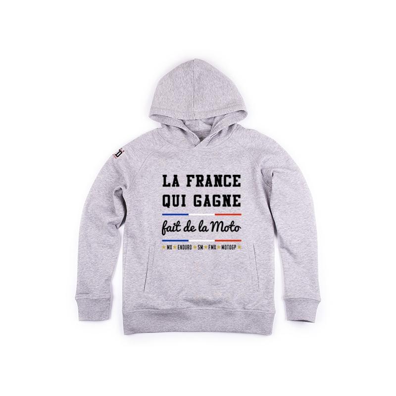 Hoodie enfant La France qui Gagne