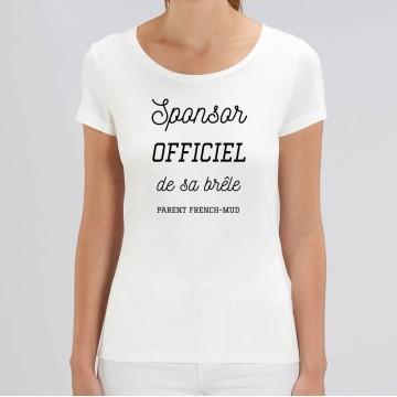 "TSHIRT ""SPONSOR OFFICIEL DE SA BRELE"" Femme"
