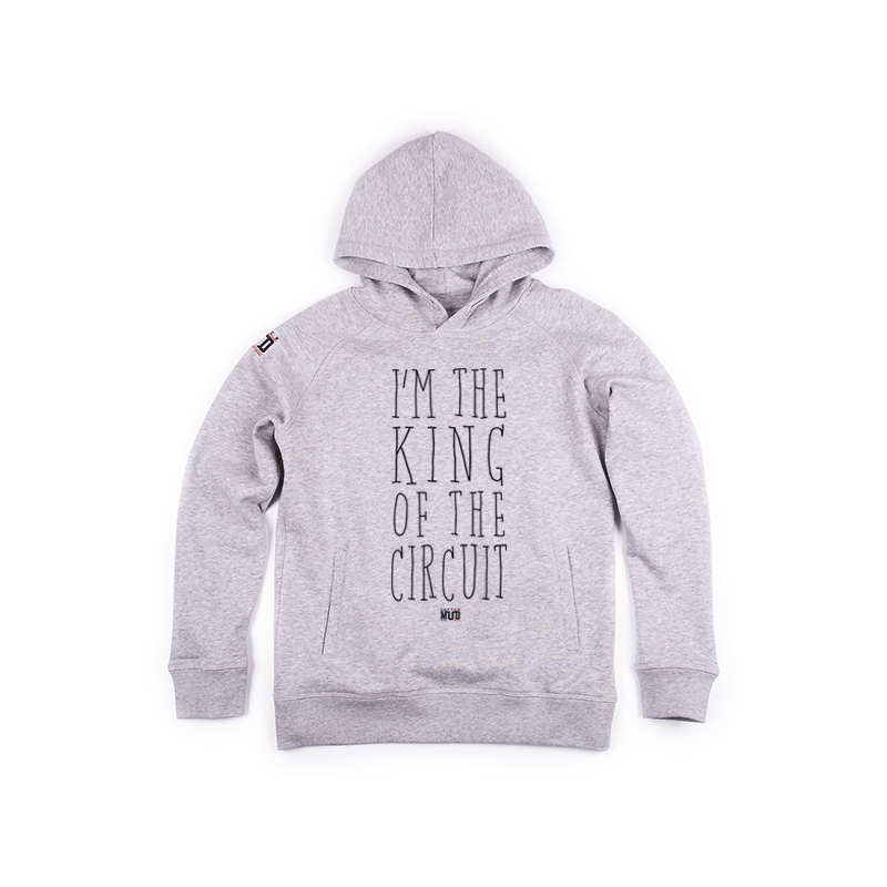 Hoodie enfant King of the Circuit