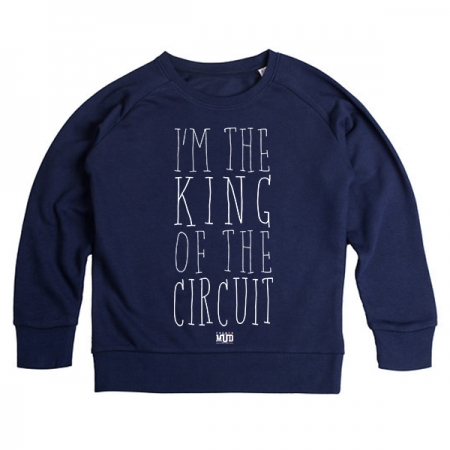 Sweat enfant King of the Circuit