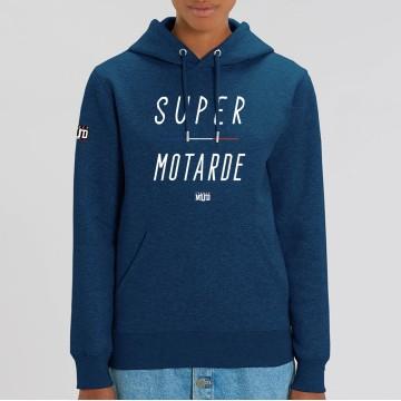 "HOODIE ""SUPER MOTARDE"" Femme"