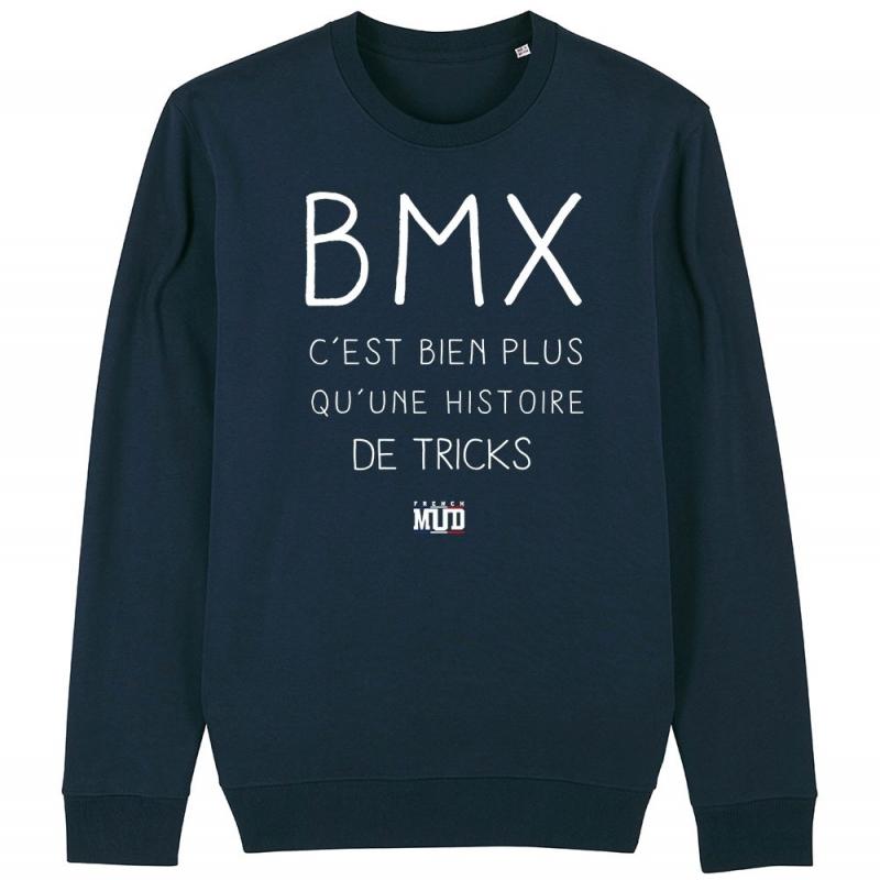 SWEAT Unisexe BMX BIEN PLUS QUE DES TRICKS