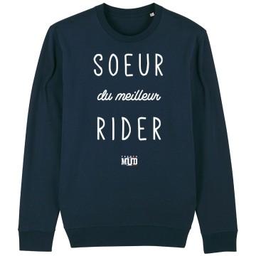 "SWEAT ""SOEUR DE RIDER"" Femme"