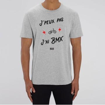 """TSHIRT """"JE PEUX PAS J'AI BMX"""" Homme"""
