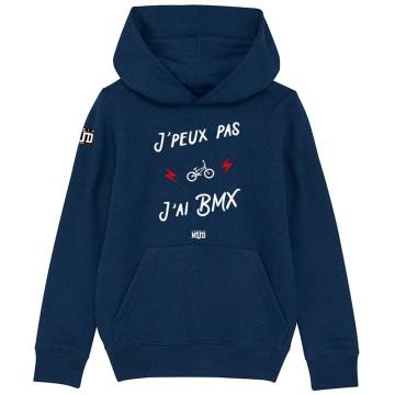 HOODIE Enfant JE PEUX PAS J'AI BMX