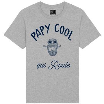 "Tshirt Bio ""Papy Cool qui roule"""