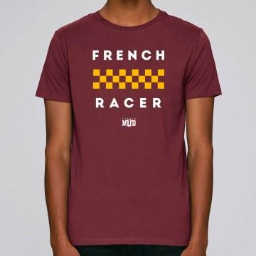 "TSHIRT ""FRENCH RACER"" Homme BIO"