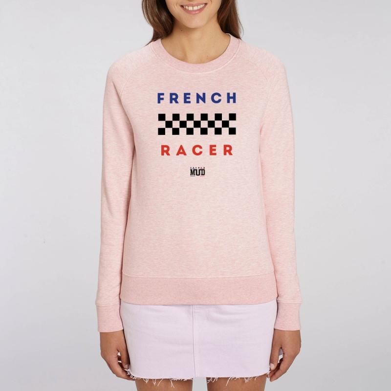 "Sweat Femme Bio ""French Racer"""