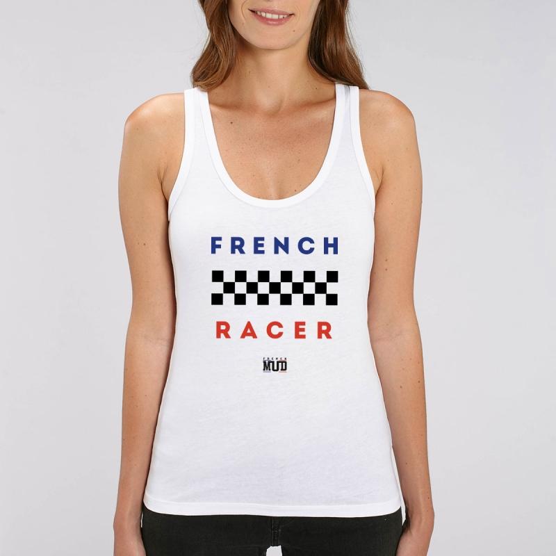 "Debardeur Femme Bio ""French Racer"""