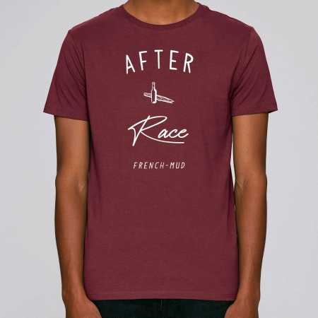 "Tshirt Homme Bio ""After Race"""