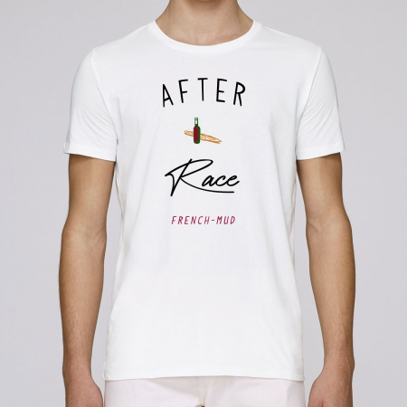 """Tshirt Homme Bio """"After Race"""""""