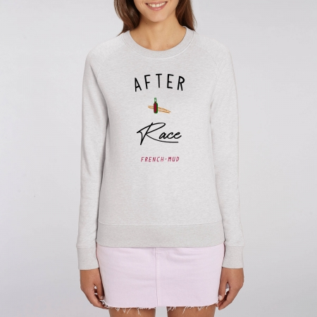 "Sweat Femme Bio ""After Race"""