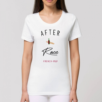 "Tshirt Femme Bio ""After Race"""