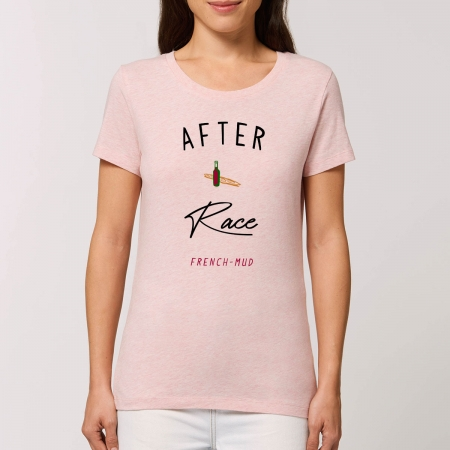 "Tshirt Femme Bio ""After Race"""
