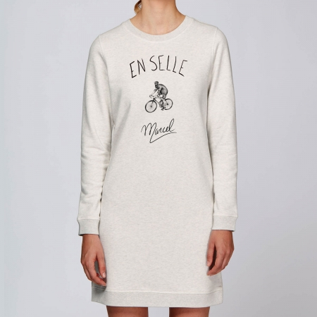 "Robe Sweat Bio ""En selle Marcel"""