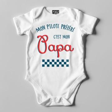 "Body Bio ""Mon Pilote prefere c'est mon papa"""