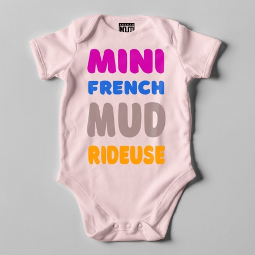 "BODY ""MINI FRENCH MUD RIDEUSE"" Bebe BIO"