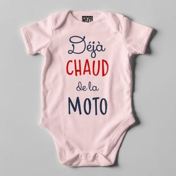 """BODY """"DEJA CHAUD DE LA MOTO"""" Bebe BIO"""