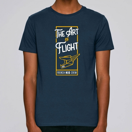 "Tshirt Homme Bio ""The Art of Flight"""
