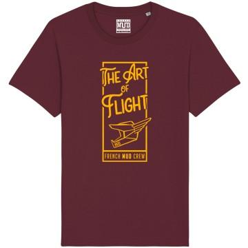 "Tshirt Homme Bio ""The Art of Flight"""