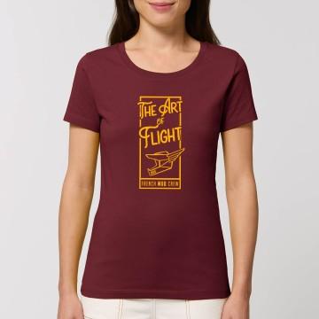 "Tshirt Bio ""The Art of Flight"" Femme"
