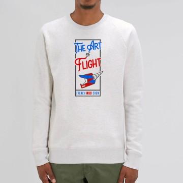 "Sweat Homme Bio ""The Art of Flight"""
