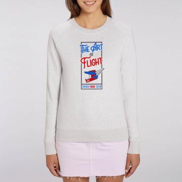 "Sweat Femme Bio ""The Art of Flight"""