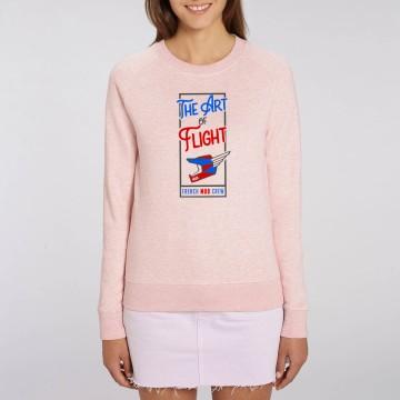 "SWEAT ""THE ART OF FLIGHT"" Femme BIO"