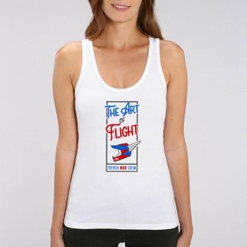 "DEBARDEUR ""THE ART OF FLIGHT"" Femme BIO"