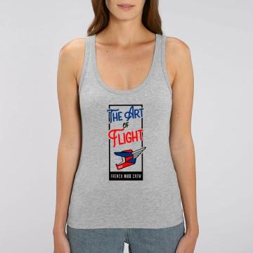 "Debardeur Femme Bio ""The Art of Flight"""