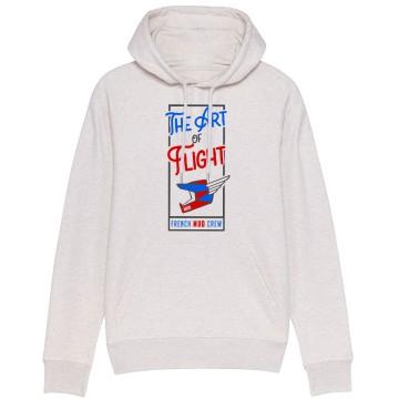 "Sweat Capuche Homme Bio ""The Art of Flight"""