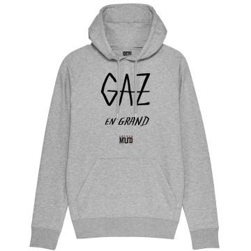 """HOODIE """"GAZ EN GRAND"""" Homme BIO"""