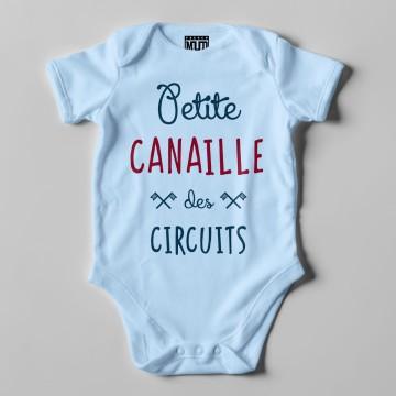 """BODY """"PETITE CANAILLE DES CIRCUITS"""" Bebe BIO"""