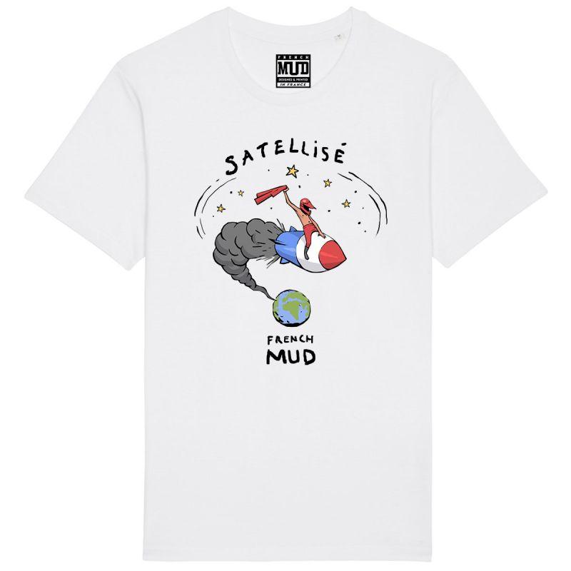 "Tshirt Homme Bio ""Satellise"""