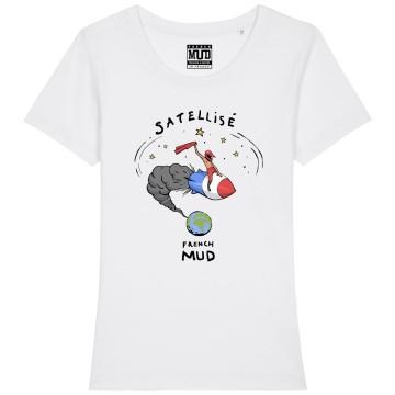 "Tshirt Bio ""Satellise"" Femme"
