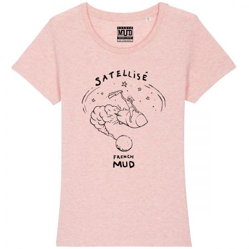 "Tshirt Femme Bio ""Satellise"""