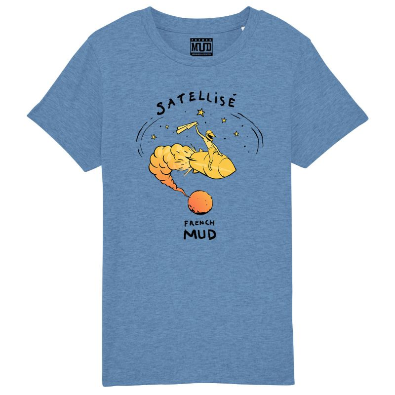 "Tshirt Enfant Bio ""Satellise"""