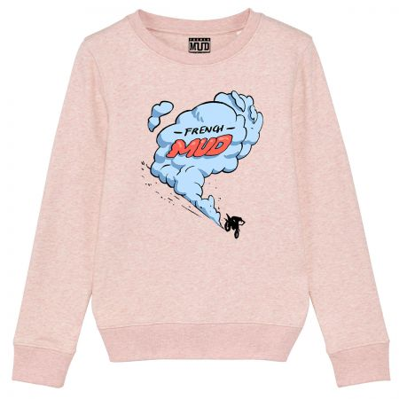 "Sweat Enfant Bio ""MX SMOKE"""