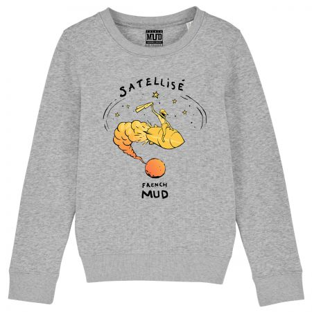 "Sweat Enfant Bio ""Satellise"""