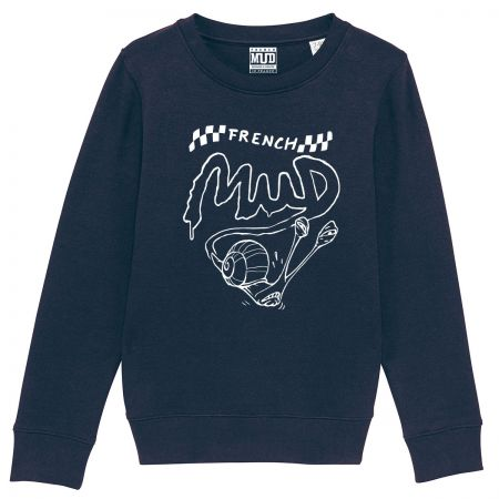 "Sweat Enfant Bio ""Speedy Cagouille"""