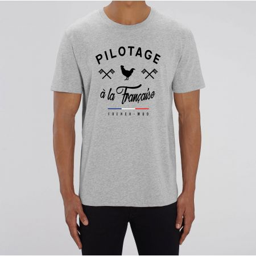 """TSHIRT """"PILOTAGE A LA FRANCAISE"""" Homme"""