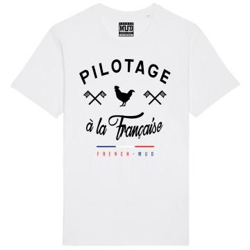 """Tshirt """"Pilotage à la Française"""" Homme"""