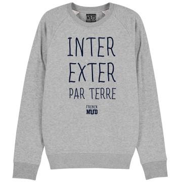 """Sweat """"Inter Exter Par Terre"""" Homme"""