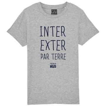 "TSHIRT ""INTER EXTER PAR TERRE"" Enfant"